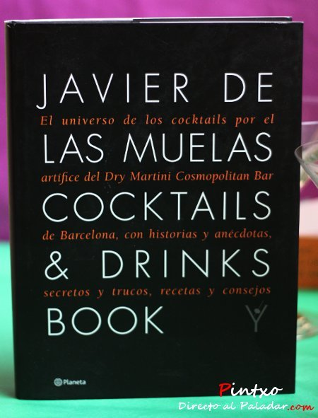 Javier de las Muelas, Cocktails & Drinks Book