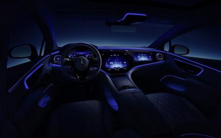 Mercedes Benz Eqs Interior 3