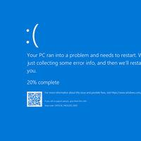 Basta con abrir este enlace para que Windows 10 te muestre un pantallazo azul de la muerte