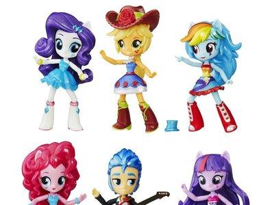 El set de seis minimuñecas de Little pony está rebajado a 32,49 euros en Amazon con envío gratis