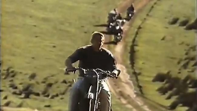 Steve McQueen en un anuncio de Shell