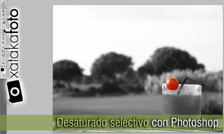 Cómo hacer un desaturado selectivo de forma fácil con Photoshop: Vídeo Screencast