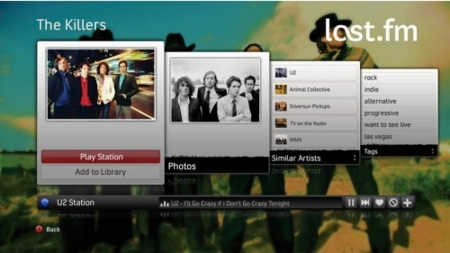 Last.Fm integrado en la Xbox 360