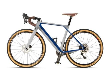 Bicicleta Bmw Blanca Azul