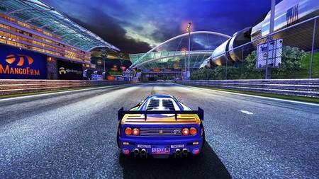 'The 90's Arcade Racer' nos muestra el contraste del día y la noche