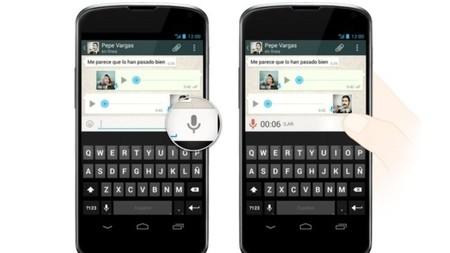 WhatsApp ha implementado y simplificado su función de mensajería por voz