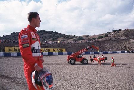 Schumacher Jerez F1 1997