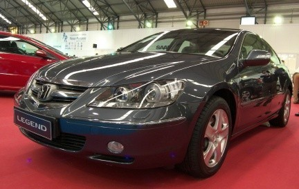 Honda Legend, sin nada que envidiar a las grandes berlinas alemanas