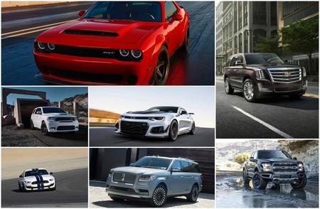 El exceso estadounidense demostrado con 7 de sus autos