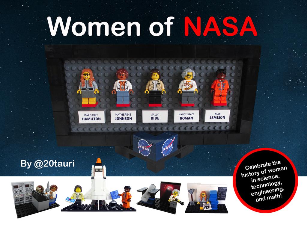 Lego Nasa Women 16