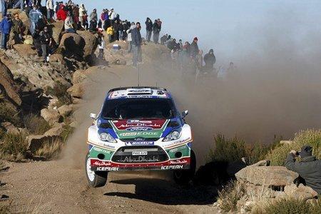 El Rally de Argentina se convierte en una prueba de resistencia
