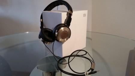 Mi Headphones, caja y auriculares
