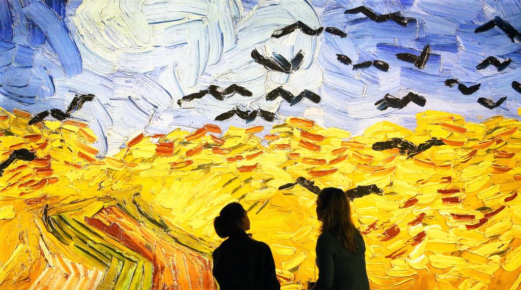 'Meet Vincent Van Gogh': todos listos para ver, oír y tocar al pintor en Barcelona