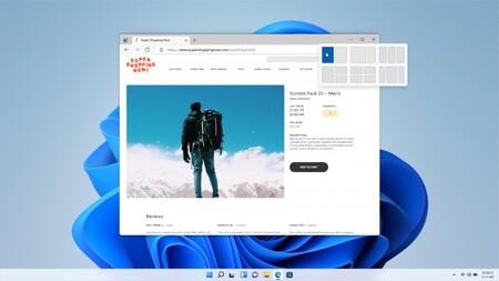 Windows 11 Oficial Caracteristicas Snap Layouts