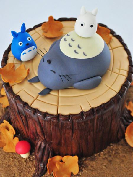 Totoro Cake Food Art 4 605