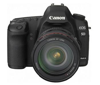 Canon presenta la EOS 5D Mark II con grabación de vídeo HD