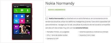 Nokia Normandy tendrá acceso a Google Play, según una tienda de Vietnam