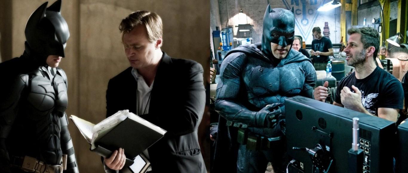 Zack Snyder; Christopher Nolan; Charles Roven