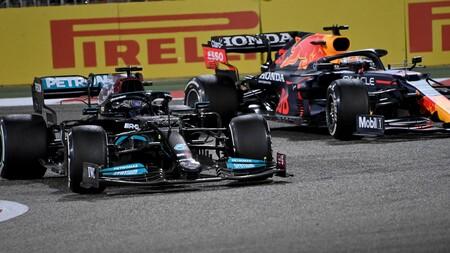 Hamilton Verstappen F1 2021