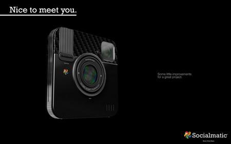 Socialmatic, la cámara prototipo de Instagram, podría hacerse realidad finalmente