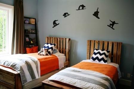 Recicladecoración: camas juveniles hechas con palés