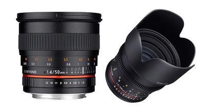 Samyang anuncia el 50mm V-DSLR para vídeo y foto con luminosidades de f/1.4 y T1.5