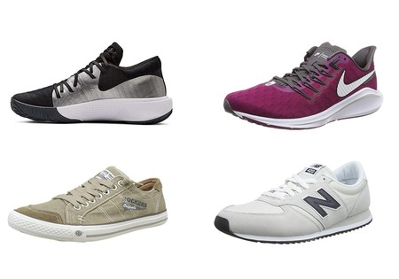 Chollos en tallas sueltas de zapatillas Nike, New Balance o Under Armour en Amazon