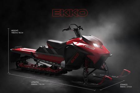 Taiga Moto Electrica Nieve 1