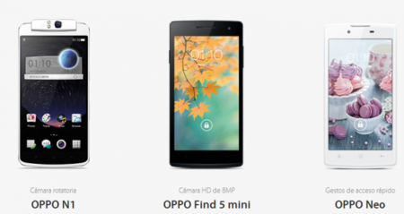 Comparamos el N1, el Find 5 Mini y el Neo de Oppo contra su competencia Android en México