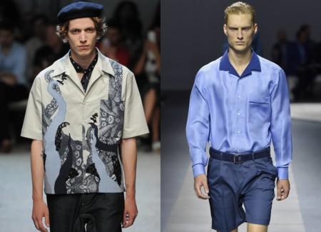 La camisa bowling: del boliche a tus looks de primavera sin esfuerzo alguno