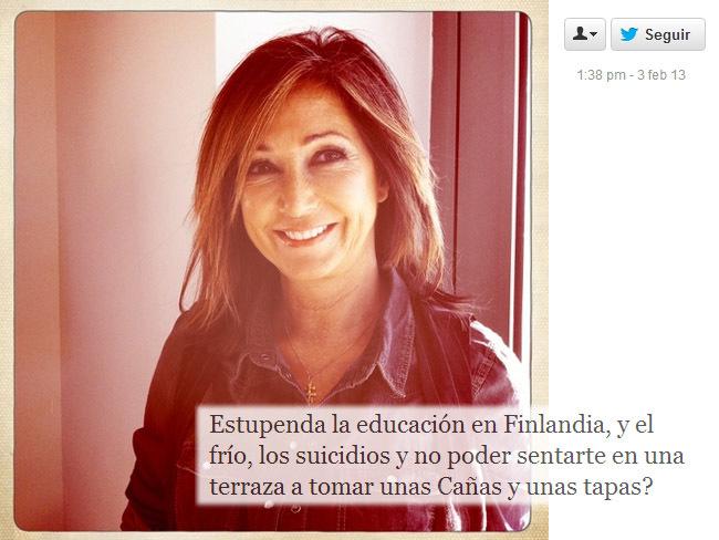 Ana Rosa Quintana y el Twitter