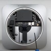 Aparecen las primeras imágenes de los M1 en un vídeo desmontando el Mac mini