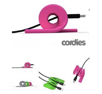 Cordies, organiza los cables en el escritorio