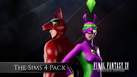 La versión para Origin de Final Fantasy XV: Windows Edition vendrá acompañada por trajes de Los Sims