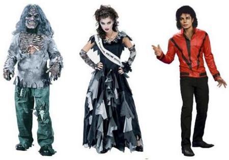 Halloween: Disfraces zombies
