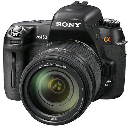 Sony Alpha A450, nueva réflex de inicio de Sony