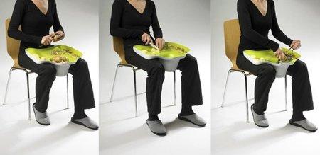 Accesorio para cocinar sentado