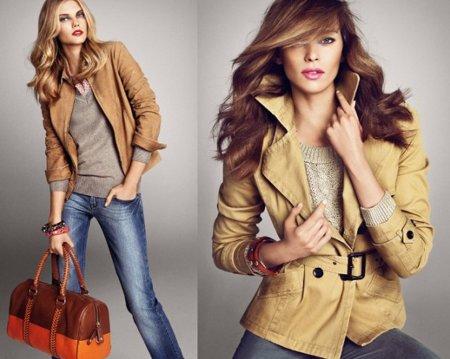 Catálogo Mango: camel 2011