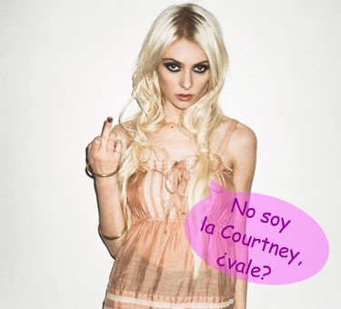 Taylor Momsen quiere ser como Kurt Cobain... ay, ay, ay