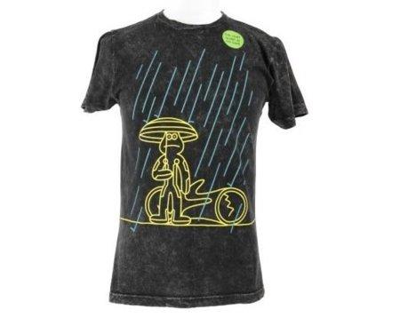 Camiseta de Tron: Legacy por James Jarvis: brilla en la oscuridad