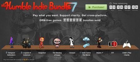 The Humble Indie Bundle 7 ya está aquí, y viene hasta con el documental 'Indie Game: The Movie'
