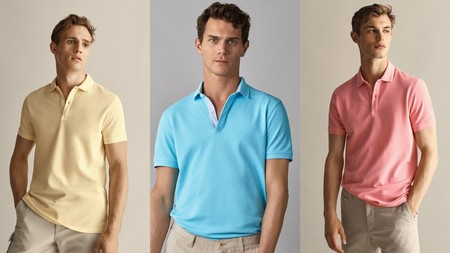 Aprovechamos Las Ultimas Rebajas De Massimo Dutti Para Hacernos De Estas Camisetas Polo Por Menos De 20 Euros