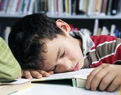 El cansancio primaveral en los niños