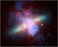 Las misteriosas ondas de radio de M82