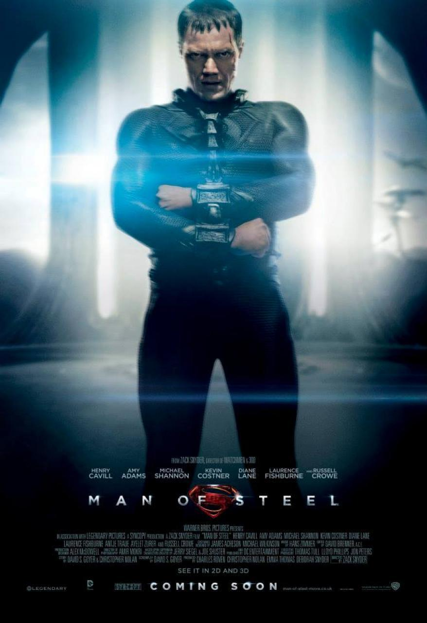 Carteles El hombre de acero