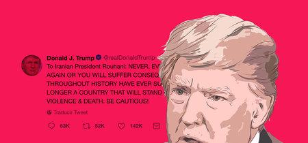 Donald Trump amenaza a Irán vía Twitter