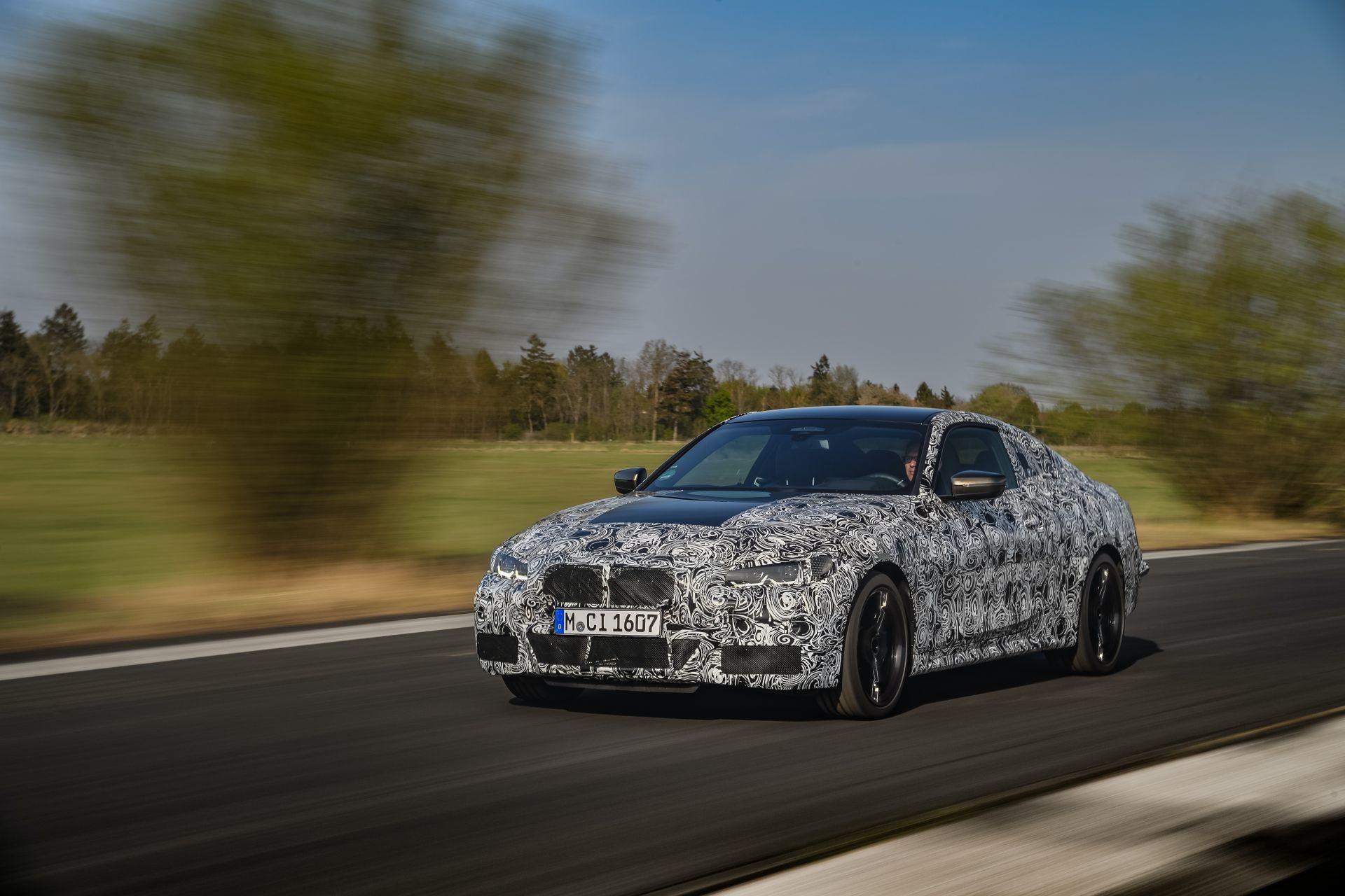 Foto de BMW Serie 4 2021 (fotos espía) (14/38)