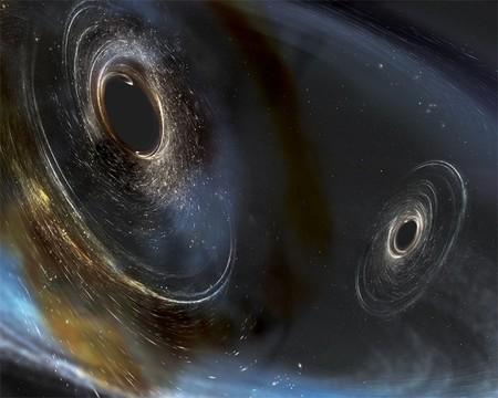 Los agujeros negros también bailan y estremecen el espacio tiempo: LIGO nos trae historias de hace 2800 millones de años