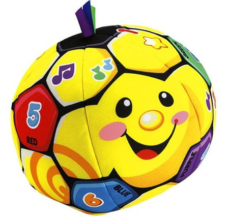 Pelota bota bota Fisher-Price 3
