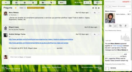 Smartr Inbox, una extensión para hacer tu Gmail más inteligente